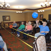 Volleyball at Shoreview Senior Living May 2018