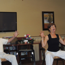 Yoga at Shoreview Senior Living May 2018