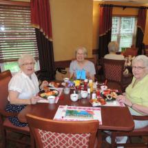 BBQ at Shoreview Senior Living