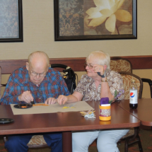 Making Butterflies at Shoreview Senior Living