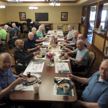 Pancakes at Shoreview Senior Living