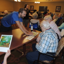 Pond Life at Shoreview Senior Living