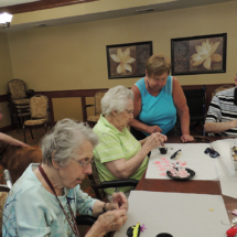 Parade Prep at Shoreview Senior Living