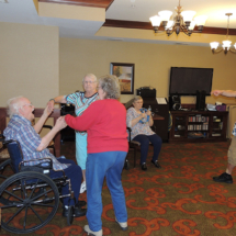 Tony Visits Shoreview Senior Living