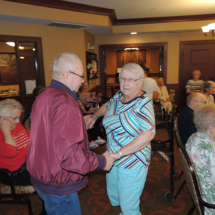 Tony Visits Shoreview Senior Living
