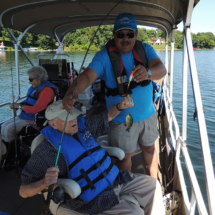 Shoreview Senior Living Goes Fishing
