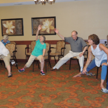 Yoga at Shoreview Senior Living