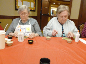Seed Art at Shoreview Senior Living